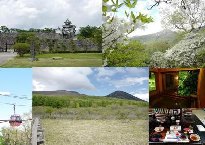 リゾート那須野満喫号&レンタカーで楽に行く!初夏の白河→那須へ1泊2日の家族旅行~