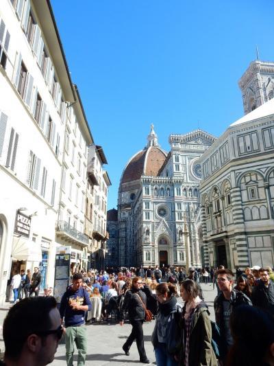 イタリア一人旅 フィレンツェ ドゥーモ ドゥーモ と挨拶をする