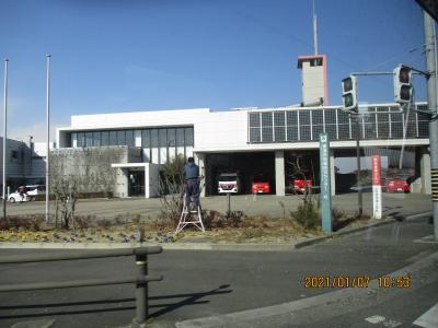 工事その6東海市南側 なかなかの消防署あたり