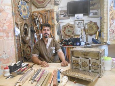 祝!イラン観光ビザ発行再開  現在のシラーズ町歩き バザールとその周辺パート2 職人の技