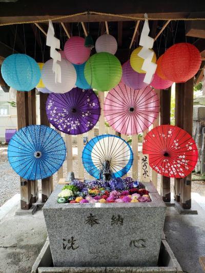 諏訪神社へ参拝