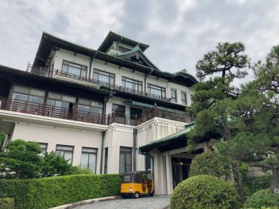 クラシックホテルでランチ&目の前の三河湾に浮かぶ竹島へ