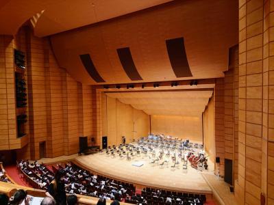 長野スペシャルコンサートを聴きにホクト文化ホールへ