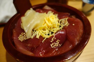 20210703-3 伊勢 最後の晩酌は、宇治山田駅前の割烹大喜でてこね寿司とか