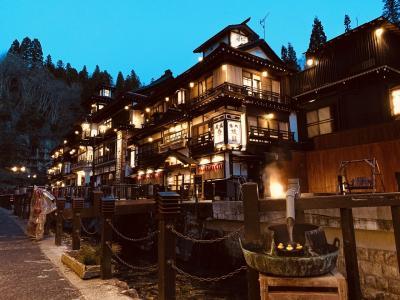 山寺~銀山温泉 山形の旅