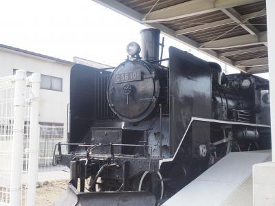 2020年夏、エクシブ軽井沢(佐久を走った列車の展示)