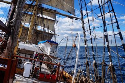タスマニアとシドニーにて、クラシック帆船に乗って豪州探検の歴史を感じる (Historical tallships in Sydney)
