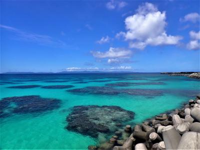 夏!沖縄 波照間島最終日 シュノーケリングをしました。