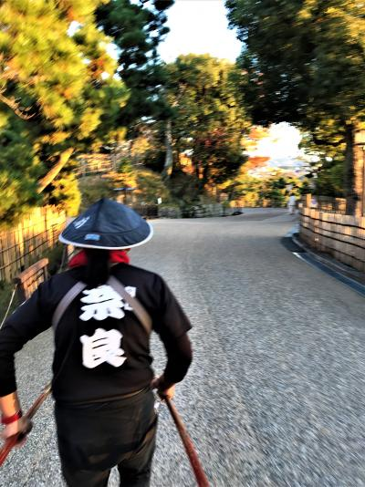 古都一人旅★奈良ホテルのテイーラウンジから 黄昏がせまる「ならまち」へ♪