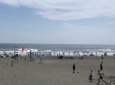 午後から久しぶり湘南鵠沼の海へ、あと江ノ電で鎌倉編