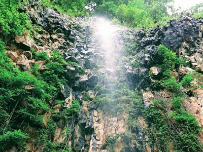 松代の幻の滝 清滝へ