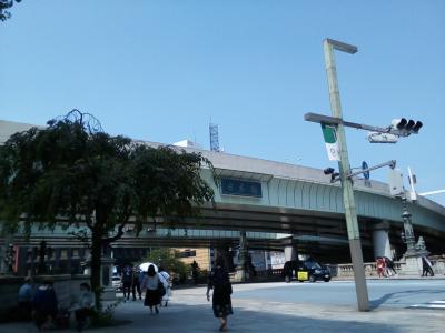 空いてる曜日、時間帯に日本橋八重洲口近辺の散策。