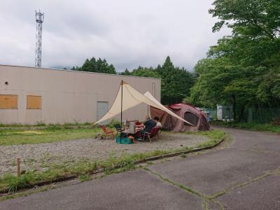 """梅雨の合間に """"グランパパ"""" でキャンプ"""