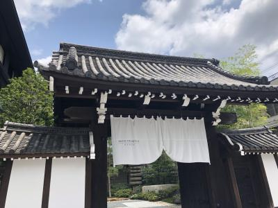 HOTEL THE MITSUI KYOTO  ホテルステイを楽しむ