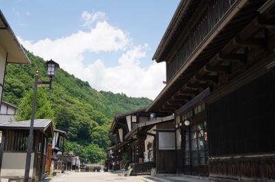 20210711-2 木曽福島 福島宿とか、興禅寺の義仲公のお墓とか