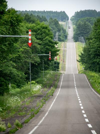 ひがし北海道 呑み鉄本線をパクる旅01 : これぞ北海道な景色をドライブ。野付半島で鹿ばっかり見る