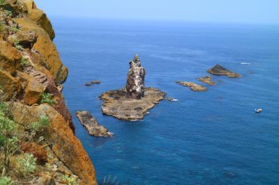 神威岬を散策して、積丹でうに丼
