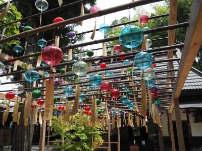 京都宇治田原の風鈴のお寺、正寿院