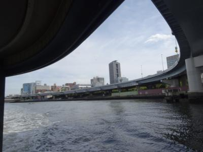 水上バスはいまどきの安全な「移動手段」【親子で東京往復記2021年6月編その2】