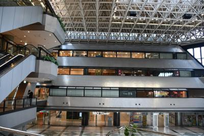 大阪ビジネスパークは、京阪電車京橋駅と直結