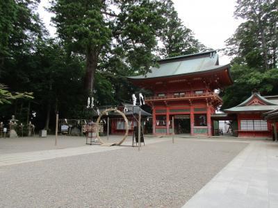 まさかの鎌足公ゆかりの地、鹿島に鎮座する鹿島神宮参拝記