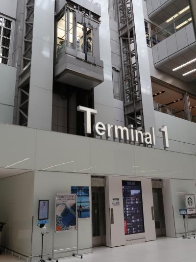 羽田空港 第1旅客ターミナル  JAL 搭乗前の余裕で ☆〈Tokyo 2020〉開会式‐58日後に