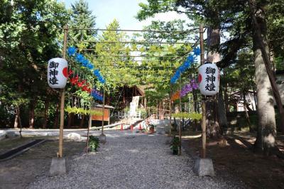 上川神社参拝