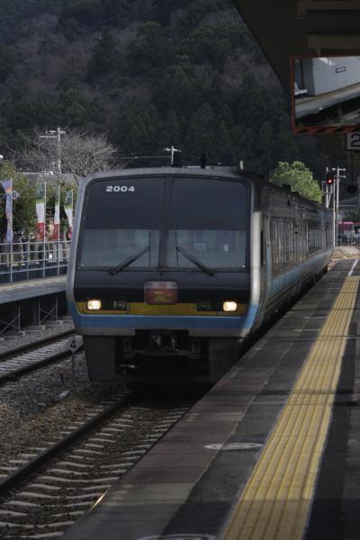 駅スタンプ収集と四国西南の旅