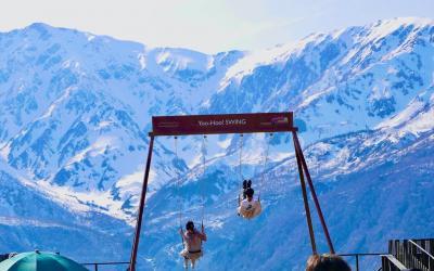 2021年GW4日目PM:白馬岩岳HAKUBA MOUNTAIN HARBORで大自然を堪能&マリオット白馬:4泊5日北陸白馬旅行:家族で♪