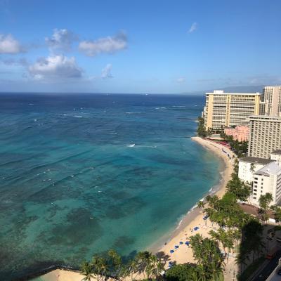 2019年 家族でハワイ 1日目