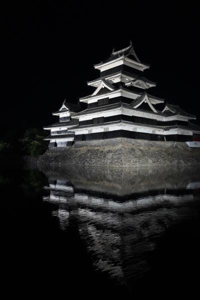 20210716-3 松本 国宝松本城天守閣の昼と夜
