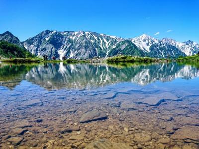 白馬八方池へ絶景夏山登山