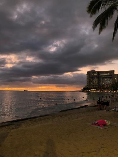 2019年 家族でハワイ 3日目-帰国日