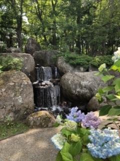 夏の玉泉館跡地公園