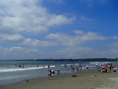 ひたちなか海浜公園プレジャーランドと大洗で海水浴の旅☆小3・年長連れ