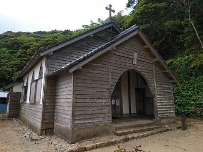 九州北部2021GW旅行記 【10】下五島4(久賀島/旧五輪教会堂他)
