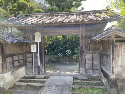 南さつまを巡る旅 (3) 武家屋敷の残る 加世田麓「重要伝統的建築物群保存地区」から江口浜へ
