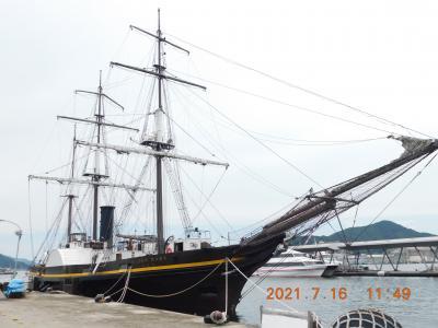 2021年 令和3年7月の長崎 長崎市内を歩け歩け!