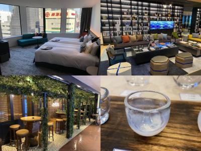 ガラス工芸展で芸術を感じて☆イタリアンを堪能する♪新しく出来たホテルインターゲート大阪でホテルステイ