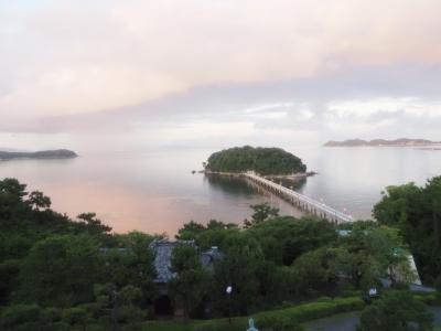 2021年7月初めての愛知2<蒲郡クラシックホテル・竹島水族館・竹島>