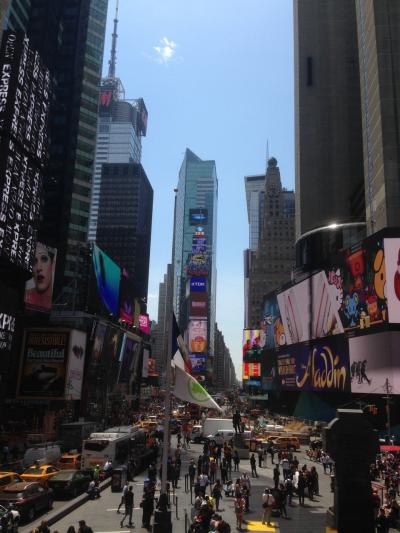 アメリカ ニューヨーク 出張中の観光