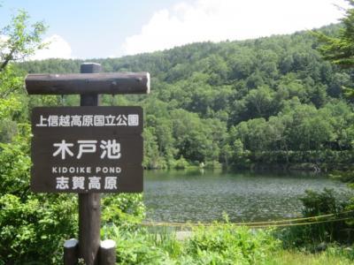 志賀高原の自然探勝コース散策と蓮池の志賀高原総合会館98・自然保護センター見学