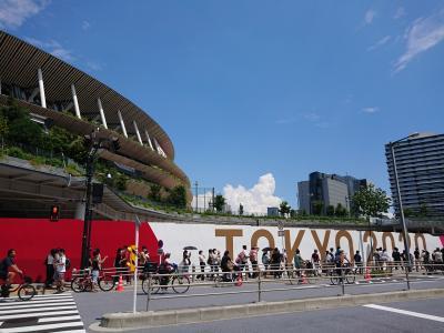 TOKYO 2020オリンピック開幕!  考えることはいろいろあるけど…今は…頑張れニッポン!