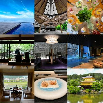 「涼」を求めて びわ湖テラス~京都スイーツ&美食の旅 Stay at THE RITZ-CARLTON Kyoto