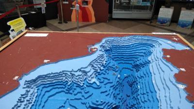 今日は「海の日」、清水港へ船と駿河湾の海底を見物に行く!