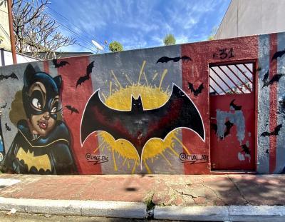 久しぶりに『バットマン横丁』再び。(Beco do Batman/サンパウロ/ブラジル)#2