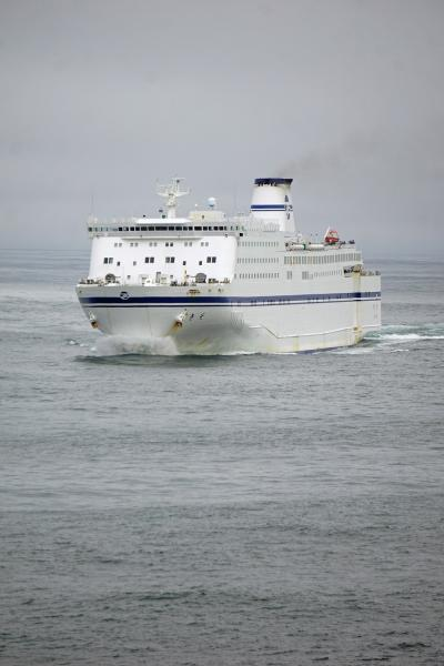 大平洋フェリー創立50周年3船乗り比べツアーと名古屋の旅(11)「いしかり」に乗って仙台経由で、線状降水帯の中を名古屋に向かう。