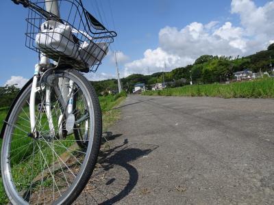 自転車で近所散歩