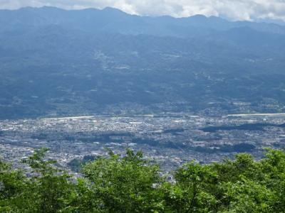 長野県飯田市風越山登山、名鉄ハイキング