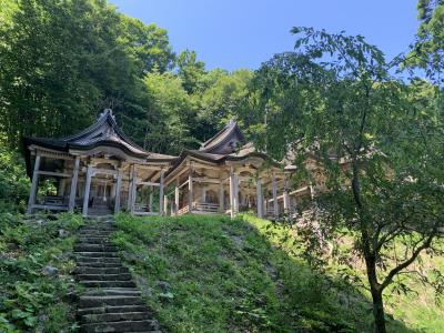 赤神神社・五社堂へ行く。